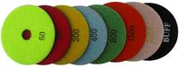 23007 Polishing Pads Wet color code for natural stone