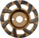 Grinding wheels with special dimensions