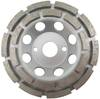 4407 Diamond grinding wheel double row concrete/abrasive