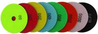 24007 Dry Polishing Pads for natural stones color code