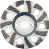 4112 Diamond Grinding Cup Fan Shape Concrete/Abrasive