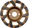 4612 Diamond Grinding Cup Fan Shape Concrete/Abrasive