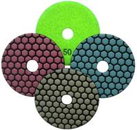24007 Dry Polishing Pads for natural stone